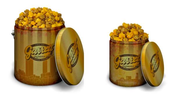Garrett's Popcorn Shops releases exclusive tin: Nagoya Gold