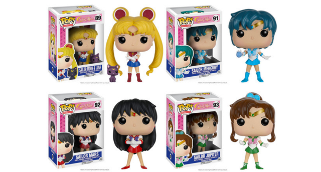 Funko's Pop! vinyl figure series adds Sailor Moon, more Dragon Ball Z characters