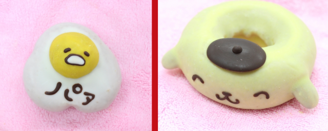 Sanrio characters Gudetama and Pom Pom Purin are now sweeter than ever as donuts 【Photos】