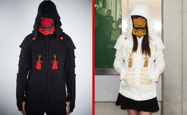 Samurai Armor Hoodies smash crowdfunding goal, now available to preorder for a limited time