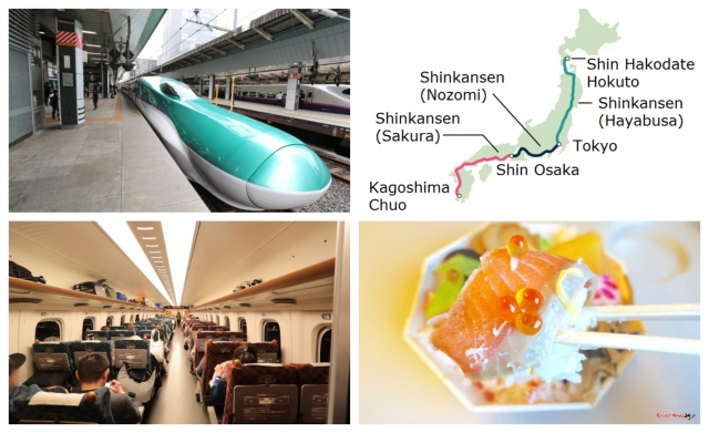 The ultimate Shinkansen trip: Riding Japan's bullet train network from one end to the other