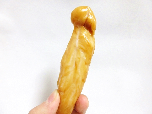 Japanese convenience store snack looks like, and almost is, smoked cock 【Taste test】