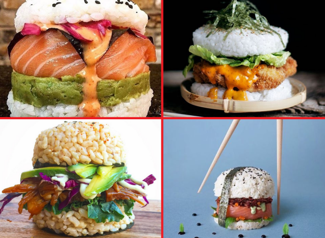 Sushi burgers: the latest DIY food craze that you should totally make for dinner tonight 【Pics】