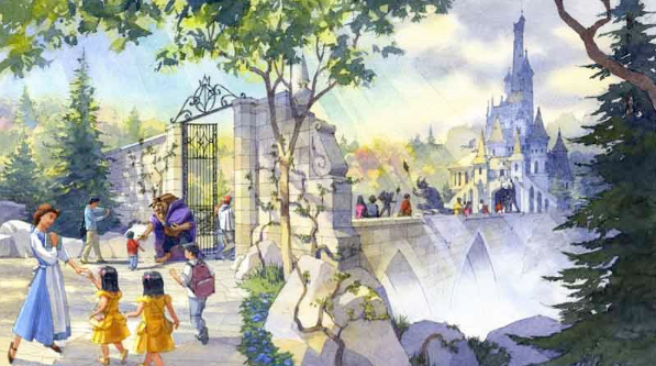 Brand-new Beauty and the Beast area and Baymax attractions coming to Tokyo Disneyland 【Pics】
