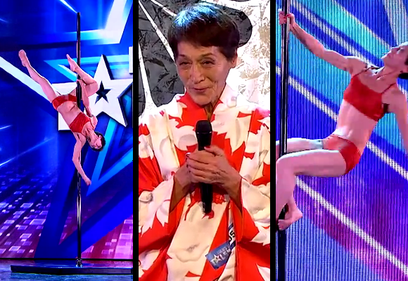 Meet Tomoko, the 70-year-old Japanese woman who can pole dance like nobody's business 【Video】