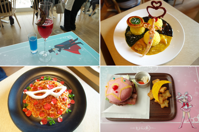 We try cute Sailor Moon-themed drinks and food at the new Chibiusa Cafe in Tokyo
