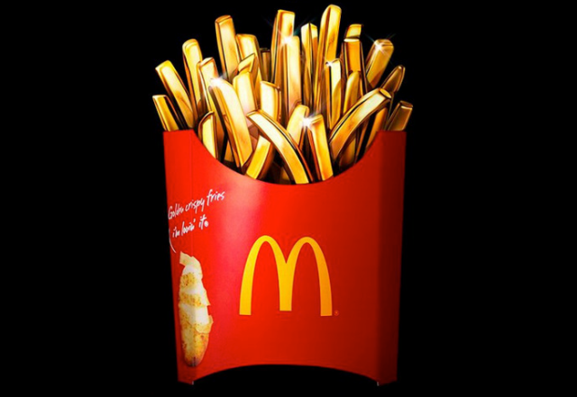McDonald's Japan offers customers chance to win gold fries