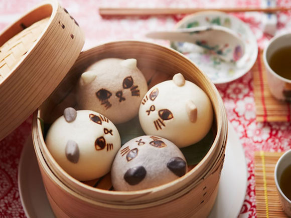 Kitty Yum Cha: New cat dumplings from Felissimo come complete with steam-at-home instructions