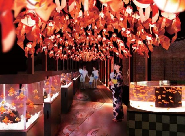 New Edo Goldfish Wonderland to open at Tokyo Skytree this summer for a limited time