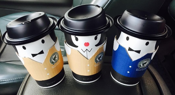 This South Korean cafe has the most fashionable coffee cups we've ever seen