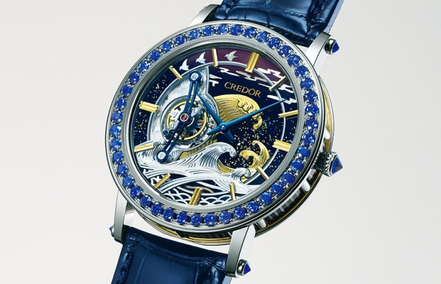 Seiko's blingtastic luxury watch based on Hokusai's Great Wave costs a pretty yenny