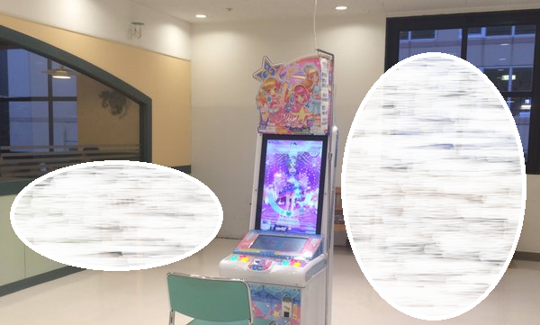Is this arcade game corner the kindest or cruelest for idol otaku who love game for little girls?