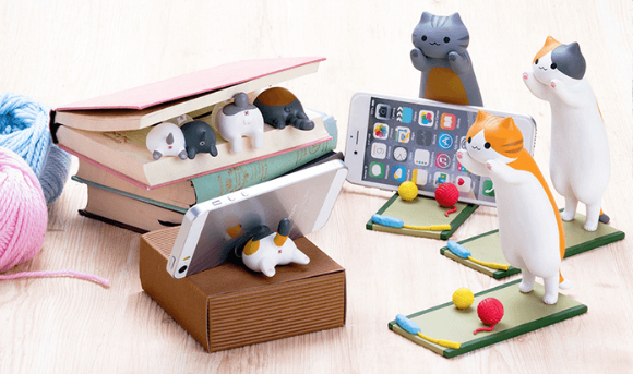Hamee (Strap-ya) to release charming catbutt cradles for your phone
