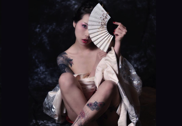 Japanese freehand tattoo artist's work ranges from bloody & erotic to delicate & beautiful