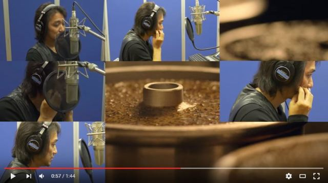 Studio Ghibli sound effects master recreates canned coffee commercial with just his voice 【Video】