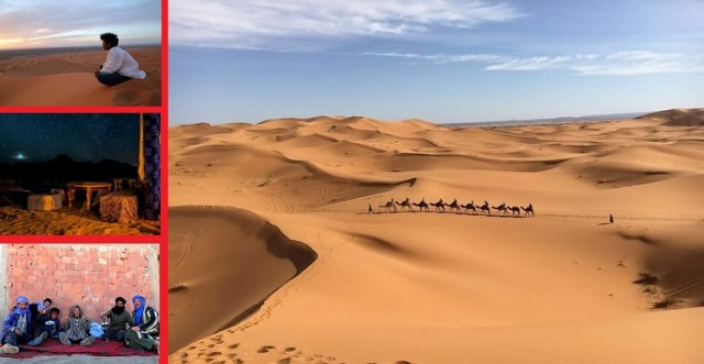 Our adventure of becoming an apprentice camel guide in the Sahara