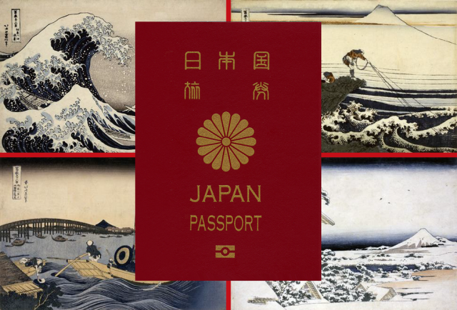 Japan's new ukiyo-e passports are going to look awesome