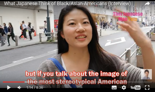 What do Japanese people think of Black- and Asian-Americans?【Video】