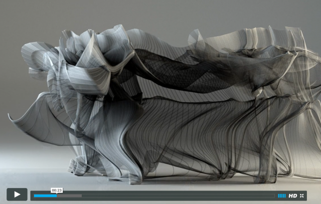 Kung Fu Motion Visualization video blurs the line between reality and digital art 【Video】