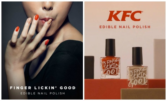 KFC Hong Kong releases fried-chicken-flavored nail polish, world not sure if ready 【Video】