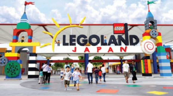 Japan is getting its first full-scale Legoland amusement park