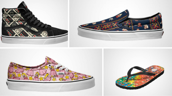 Vans to release line of Nintendo 8-bit sneakers this summer【Pics】