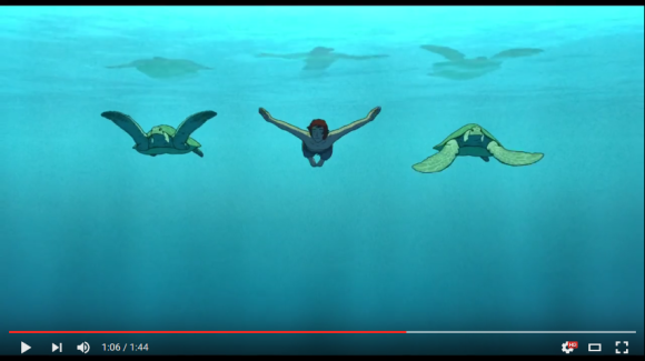 red turtle trailer top