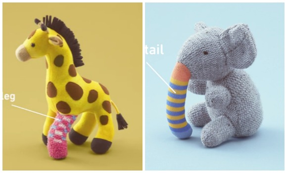 Japanese company raises awareness of child organ transplants by giving old toys donated limbs