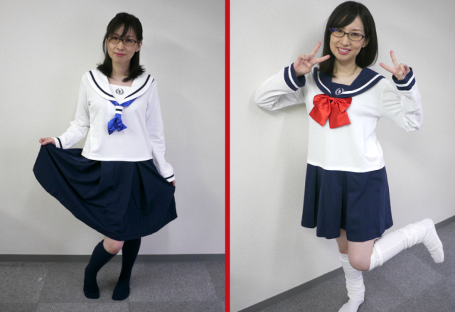 RocketNews24's Meg models the entire line of Japan's new schoolgirl outfit loungewear 【Photos】