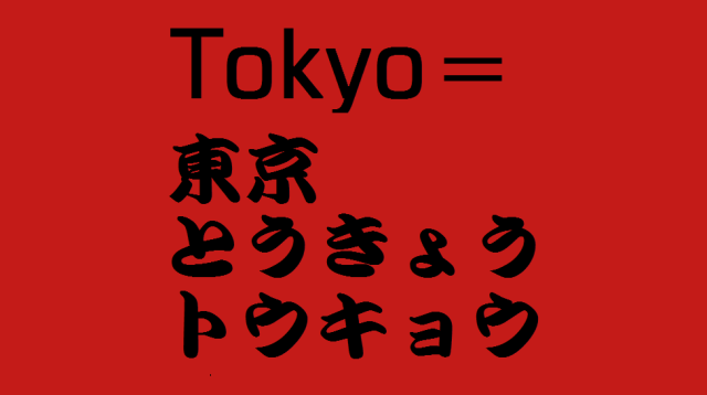 Why does Japanese writing need three different sets of characters? (Part 1)