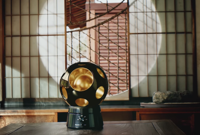 Panasonic releases crazy expensive, surprisingly beautiful rotating fan to match any tatami room