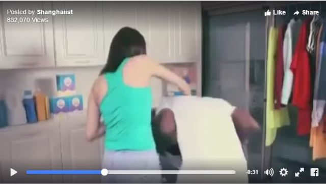 Chinese ad for laundry detergent is remarkably racist