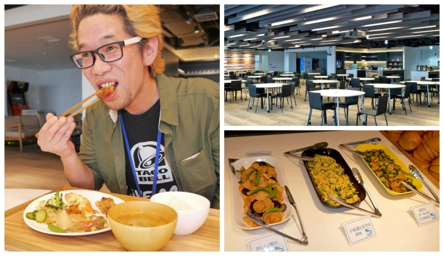Mr Sato takes a trip to Twitter Japan's lunch room, gorges on their special menu