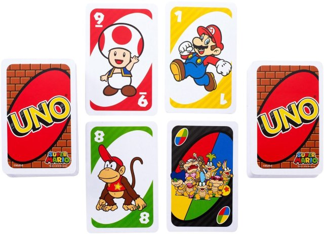 Special edition UNO allows you to play with Mario and co. in a whole new way