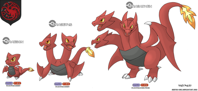 These Game of Thrones/Pokémon hybrid designs make us want to catch 'em all!