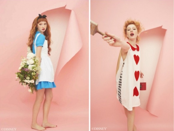 Japanese lingerie maker Peach John charms us with line of Alice in Wonderland themed loungewear