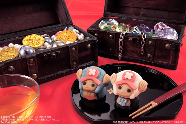 One Piece anime character now appears as Japanese wagashi tea ceremony sweet