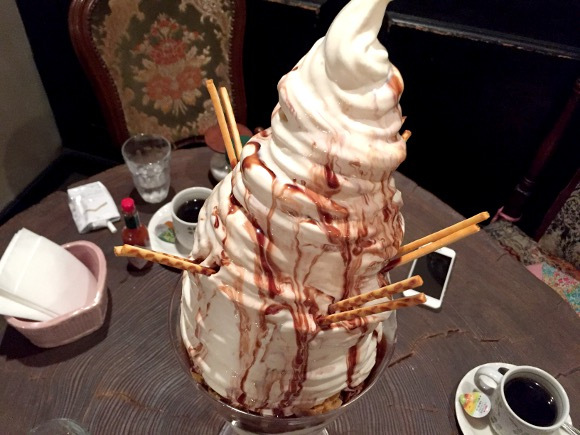 Japan's Parfait Day is the perfect excuse to eat a nearly two-foot Sundae at this Tokyo cafe