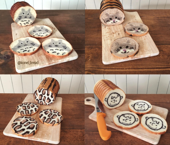 Japanese cook uses sushi-making as inspiration for beautifully artistic bread loaves