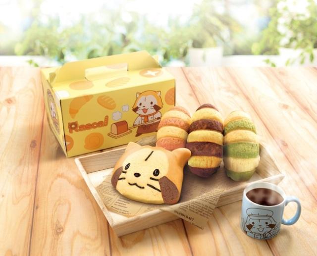 Bandai's bakery/cafe to offer a variety of character themes — starting with Rascal the raccoon!