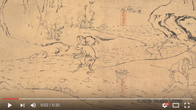 Studio Ghibli releases second short adaptation of Japan's oldest manga【Video】