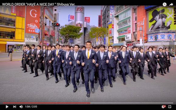 Genki Sudo returns in Shibuya-version of hit World Order song【Video】
