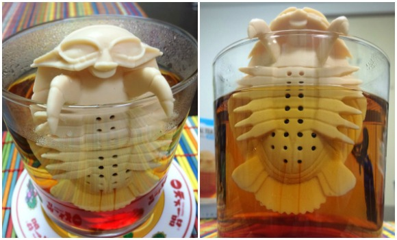 Would you drink tea made by a giant isopod? 【Pics】