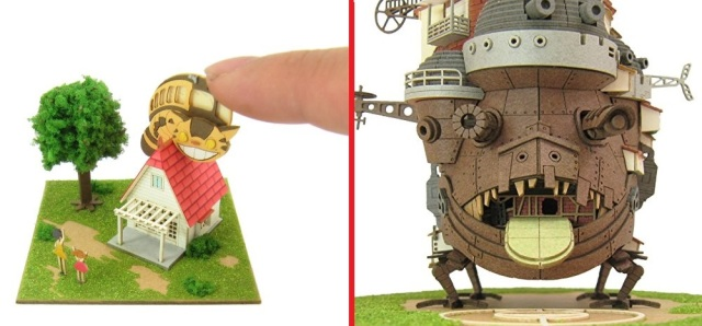 5 best Studio Ghibli papercraft kits that you can assemble yourself