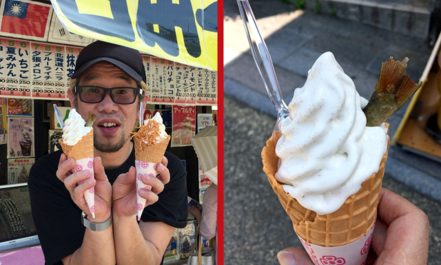 Ramen, fish, and turtle all on the menu at Japan's most crazily comprehensive ice cream shop