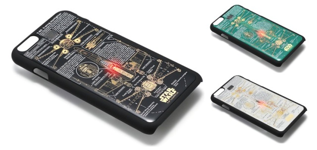 The future is now! Star Wars circuit board phone and train pass cases light up without batteries