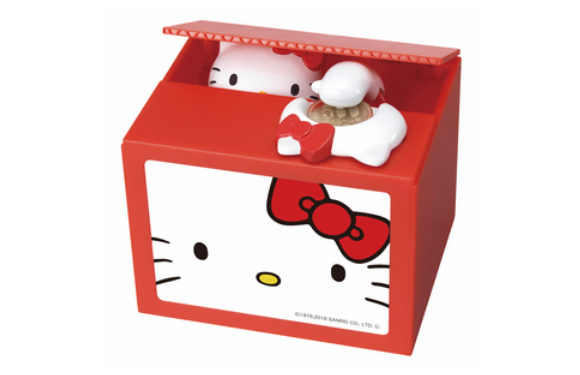 Is this cute coin bank the ultimate expression of Hello Kitty's true reason for existing?