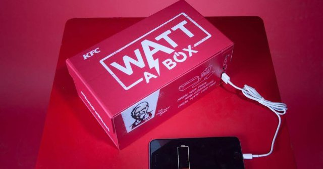 KFC India releases box of chicken that lets you charge your smartphone while you eat 【Video】