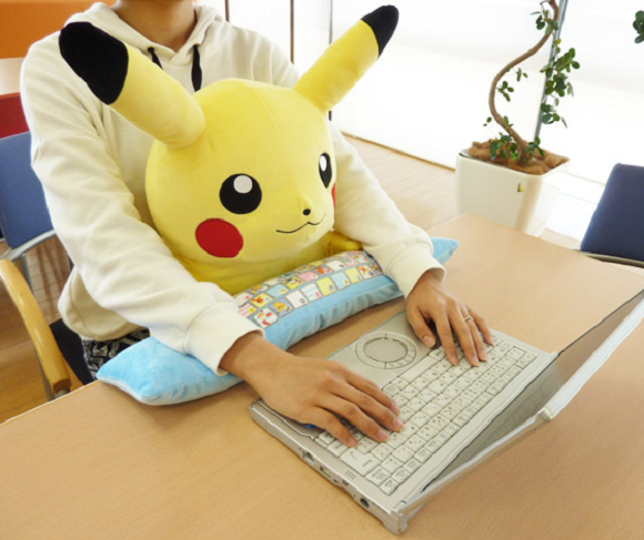 Cuddly Pikachu PC cushion will steal your heart, absolutely ruin your productivity