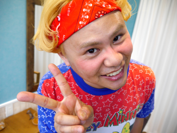 Our reporter gets a genderless makeover and turns himself into Harajuku model Ryucheru